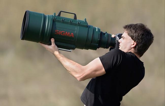 Imagen 12: y elegir el correcto, incluso si pesa 15 veces más que la propia cámara